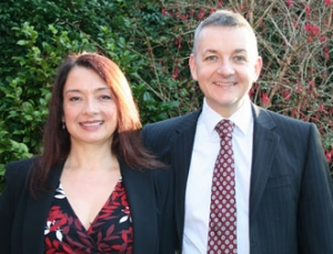 Richard and Lucy Brace - owners of Research Associates - specialists in UK and international business-to-business market research